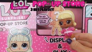 ЛОЛ Сюрприз вискочить магазин ексклюзивного ляльки БУГАГА!!