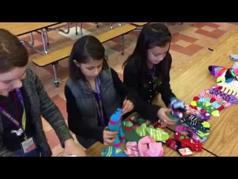 Fresno students give back at the holidays