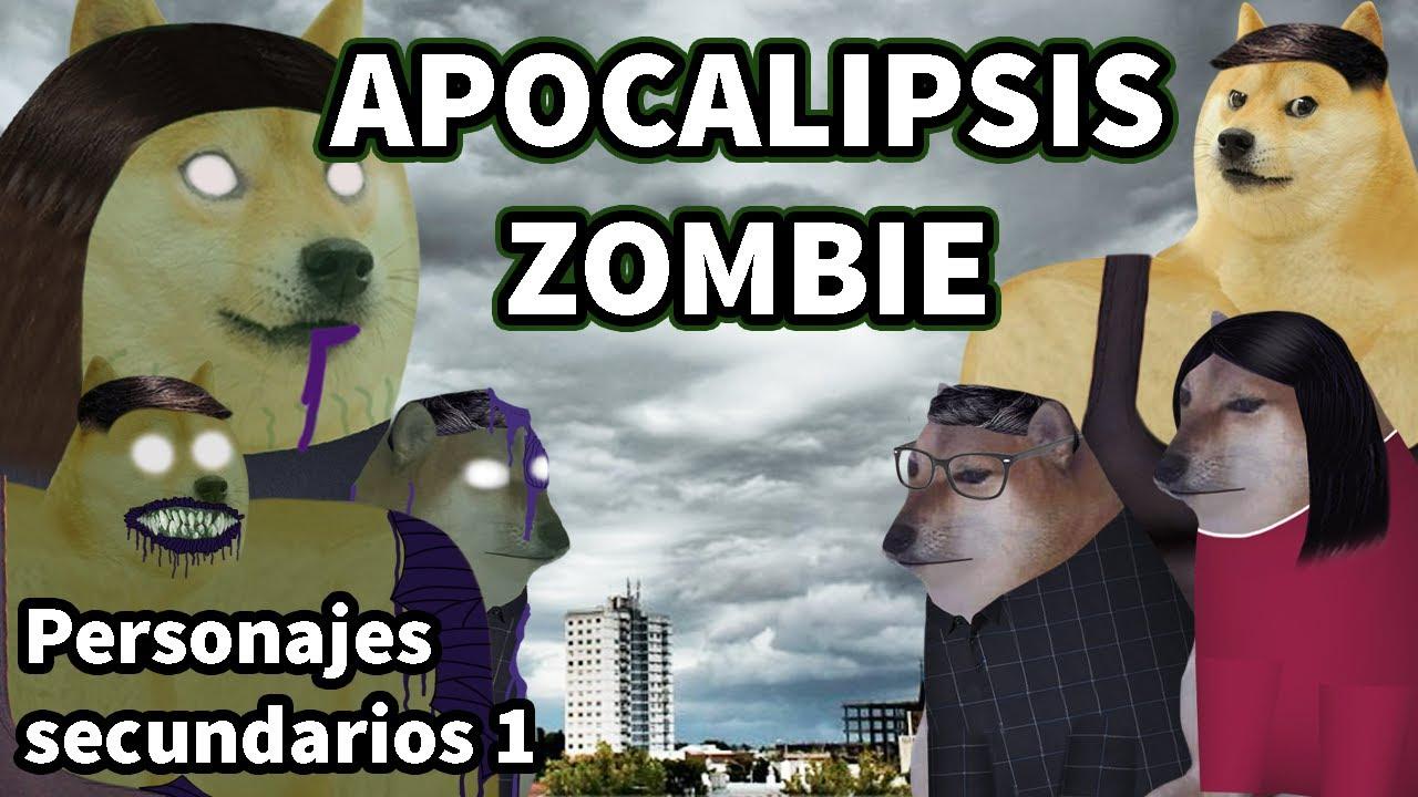 APOCALIPSIS ZOMBIE con derecho / Personajes Secundarios # 1