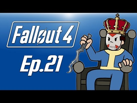 Delirious plays Fallout 4! Ep. 21 (I AM KING DELIRIOUS!) OP Weapon!?