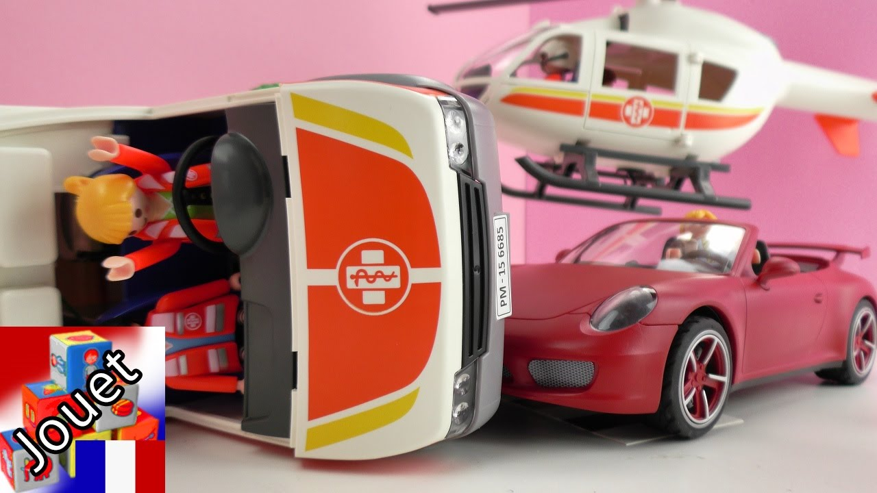 film playmobil fran aise accident avec l h licopt re de sauvetage histoire playmobil youtube. Black Bedroom Furniture Sets. Home Design Ideas