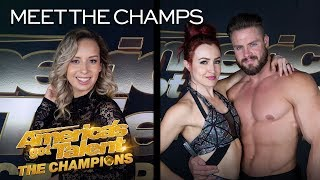 Duo Transcend and Dania Diaz Bring EXCITEMENT To Champions! - America's Got Talent: The Champions