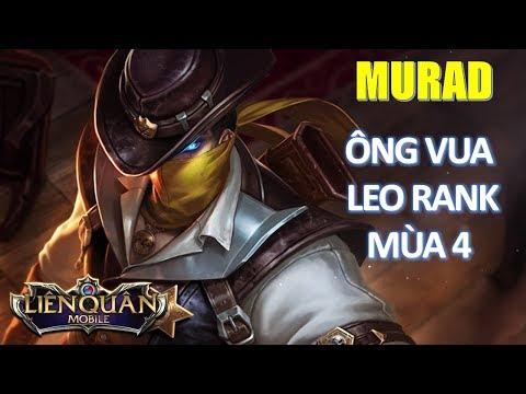 Ông vua leo rank đầu mùa 4: Murad thợ săn tiền thưởng - Học chơi ngay để leo rank dễ dàng