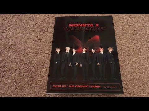 Monsta X 2018 World Tour The Connect Book Program Official Encore Concert Goods Photobook Unboxing