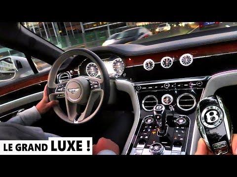 INCROYABLE L'INTERIEUR LUXUEUX ! BENTLEY CONTINENTAL GT 2019  (Part 2/2)