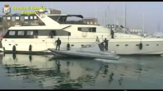 Guardia di Finanza, sequestrato uno yacht da 2 milioni di euro