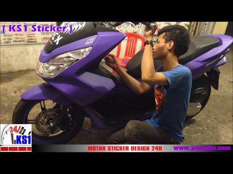 Honda pcx 150 modified sticker new color