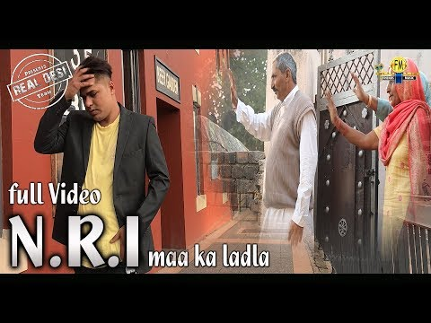 Full Video / N.R.I maa ka ladla / latest haryanvi song / REAL DESI team 9728000335 / happy new year