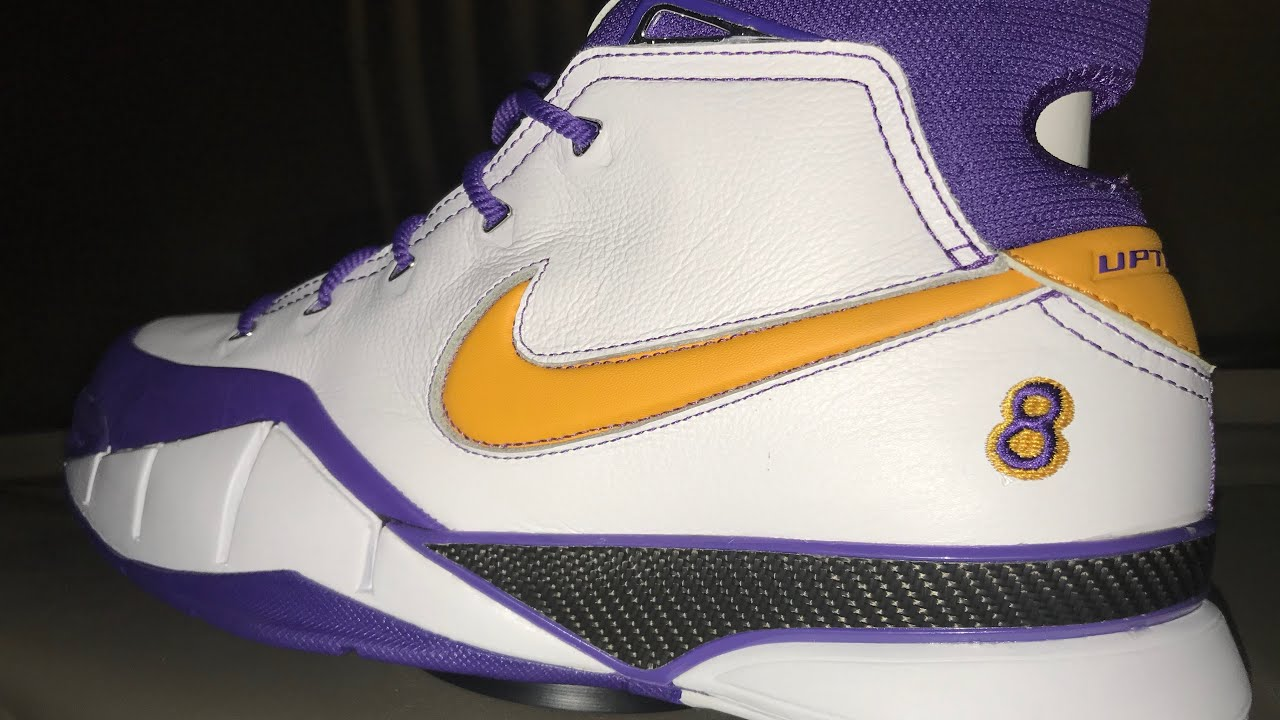 """aeff1d8ca1e1 Nike Kobe 1 protro """"final second"""" """"close out"""" review - YouTube"""