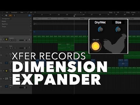 XFER Dimension Expander   FREE PLUG-IN WEEKLY