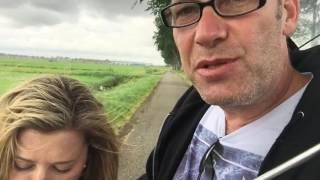 Australian in Holland on bikes