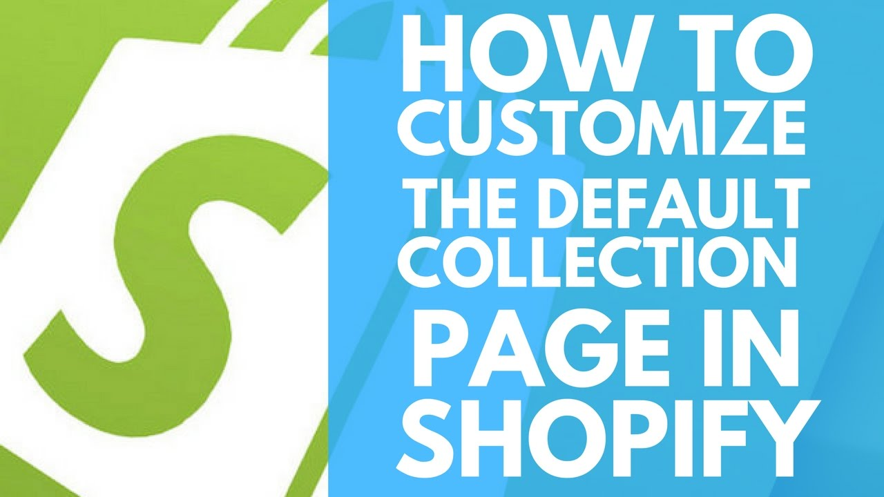 how to add a collection to a page shopify