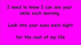 need to be next to you lyrics sara evans