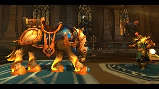 Paladin Class Mount and full Questline - Highlord's Charger | WoW Legion [Patch 7.2]