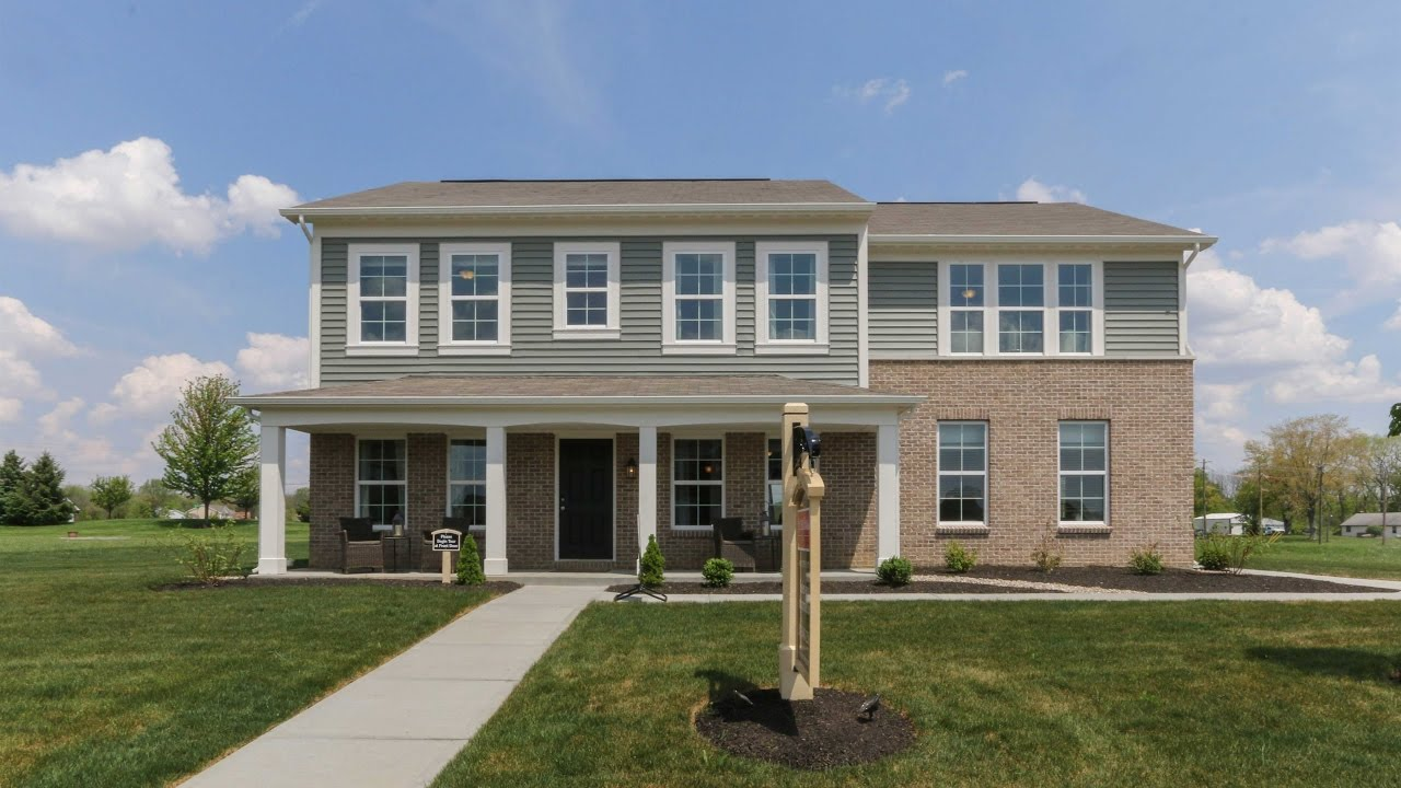 The denali floorplan by fischer homes model home in the for Home by home