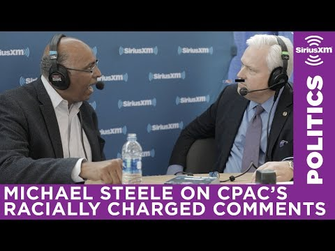 Michael Steele addresses CPAC's racially charged comments with Matt Schlapp