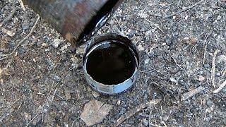 Как добыть березовый деготь \\ Bushcraft skills: How to make birch oil