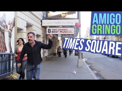 Conhecendo a Times Square | Amigo Gringo