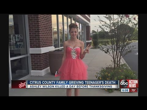ashley wilson killed in car wreck