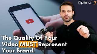 The Quality Of Your Video Needs To Represent Your Brand: Sell eCommerce Products with Facebook Video