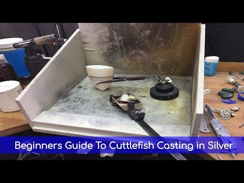 Beginners Guide To Cuttlefish Casting in Silver