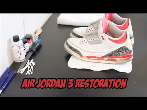 air jordan retro fire red 3 restoration