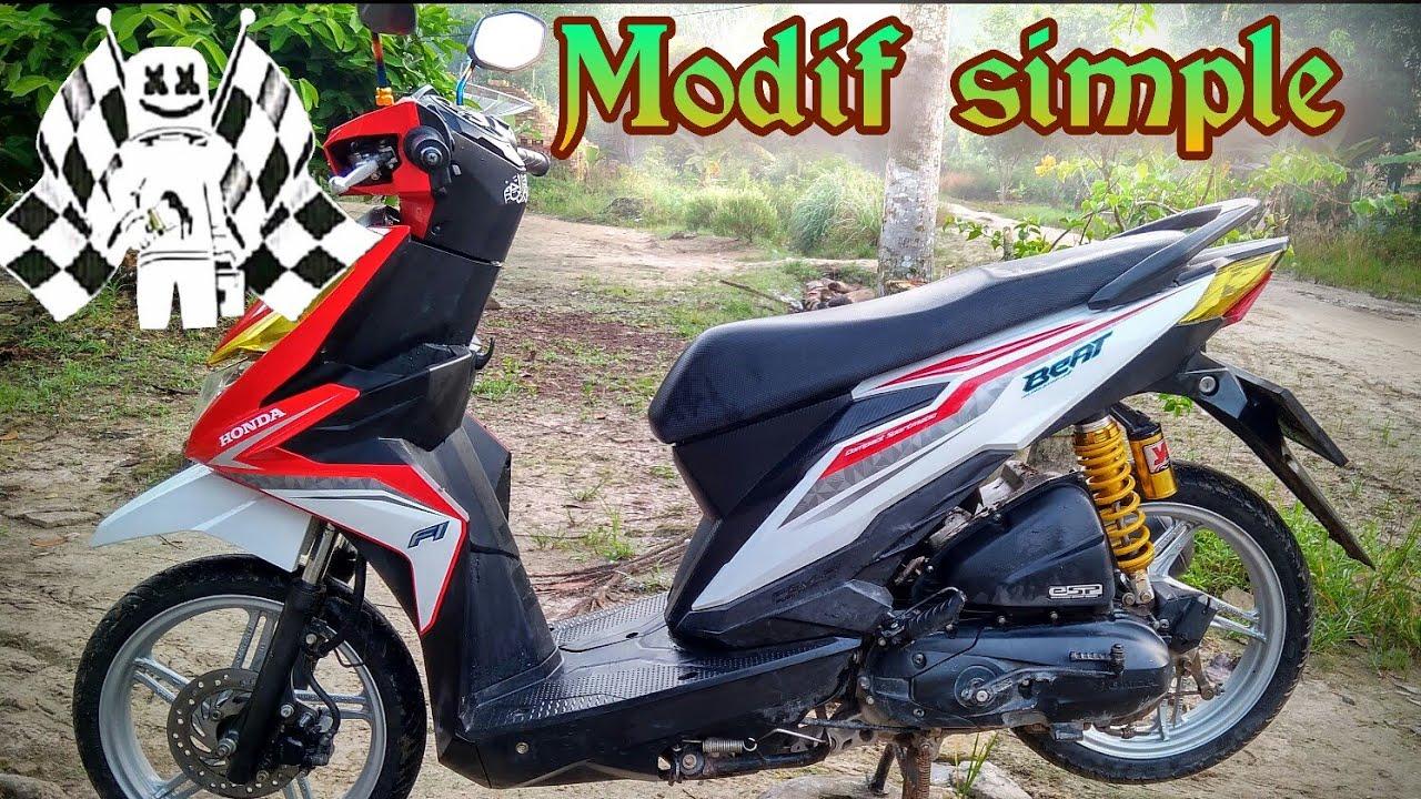 Modifikasi Honda Beat Simple Youtube