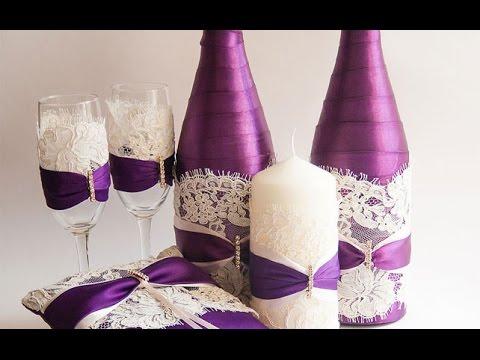 Как украсить шампанское своими руками 575