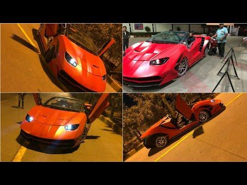 Used Honda City Modified To Look Like Lamborghini For Rs 7 5 Lakhs