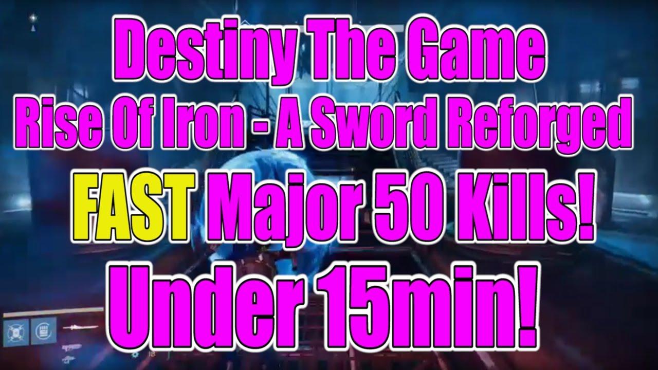destiny rise of iron how to get sword
