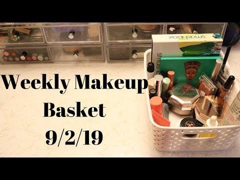 Weekly Makeup Basket 9/2/19 | HelenasQueendom