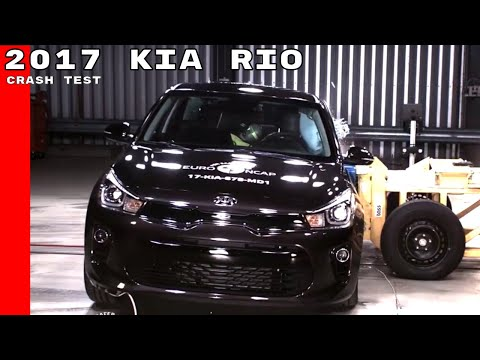 2017 Kia Rio Crash Test
