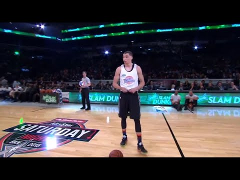 Zach LaVine Space Jam Dunk 2015 NBA All Star Weekend