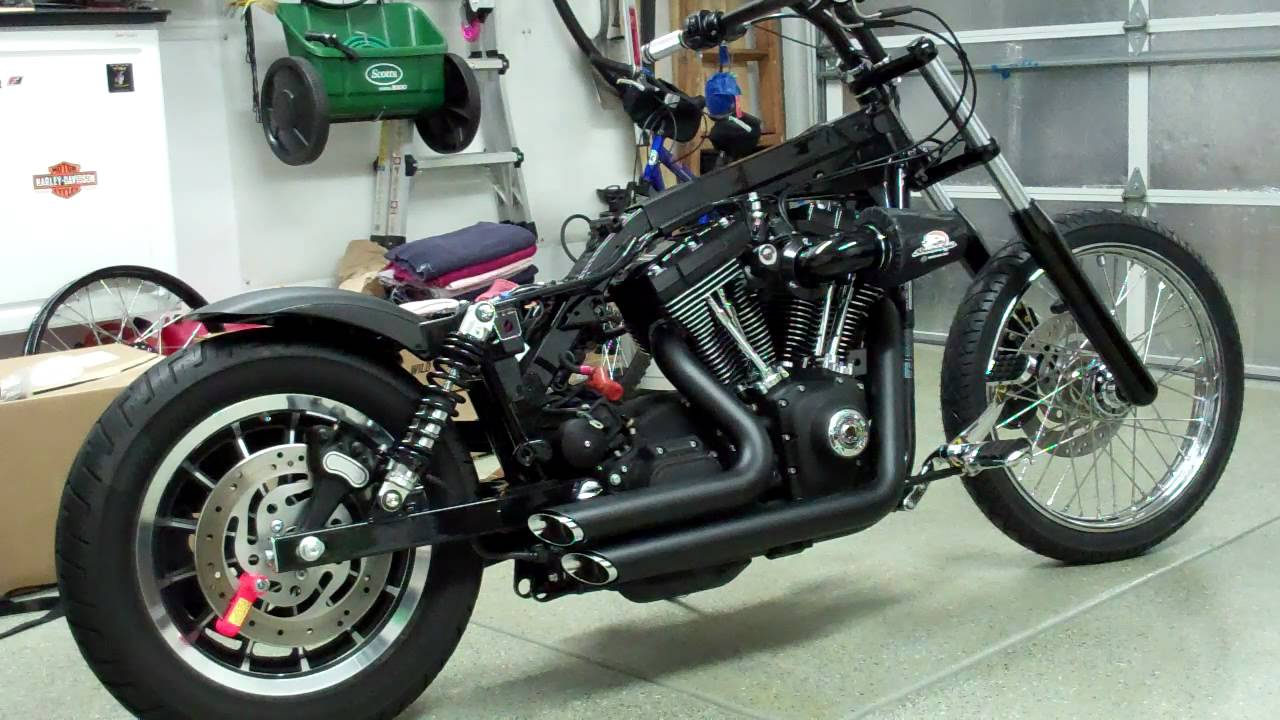 Tracker V � Custom Harley Davidson Dyna: My 2004 Harley Dyna Custom Project 2011 #14