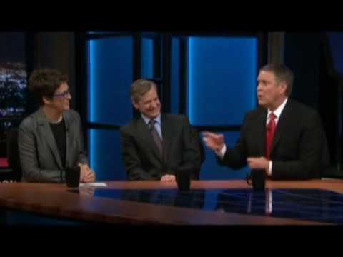 Bill Maher Rachel Maddow Bill Frist on Obama Bitartisanship on Healthcare