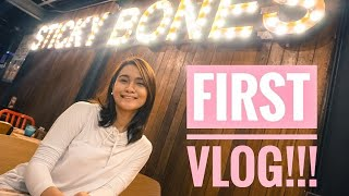 MY NOT SO GOOD FIRST VLOG | MORGANFIELD'S PHILIPPINES
