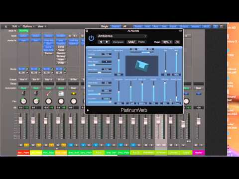 Lesson 5 - Algorithmic and Convolution Reverb in Logic Pro X