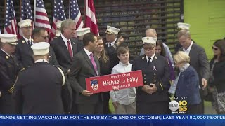 FDNY Chief Fahy Honored