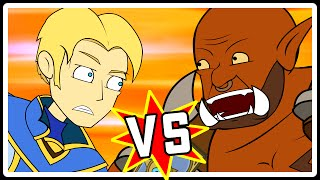 Anduin v Garrosh: Ein Hearthstone Cartoon | Wronchi Animation