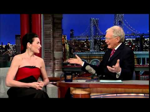 Julianna Margulies no Late Show com David Letterman (trecho 2)