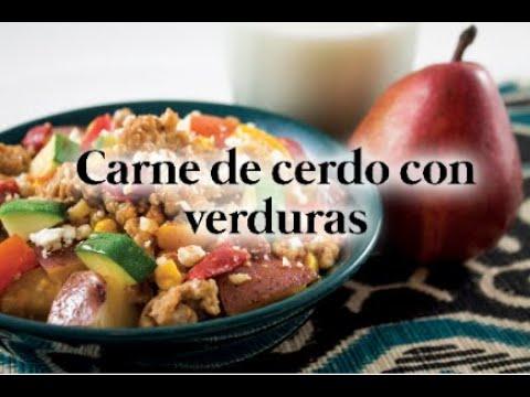 Spanish Pork Saute Spanish