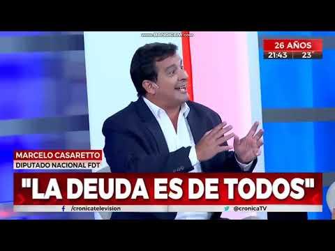 Negociación de la deuda externa, y la presencia del Ministro Guzmán en la Cámara de Diputados