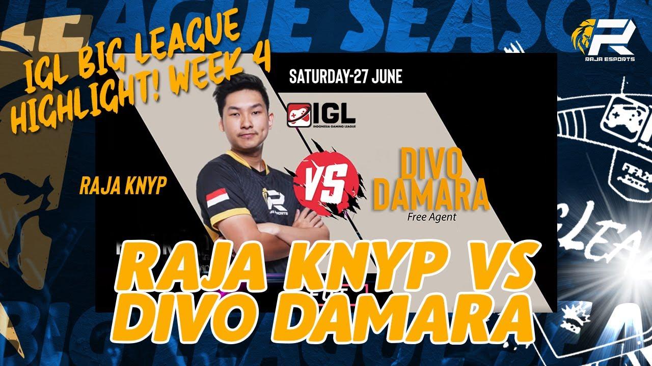 HIGHLIGHT IGL WEEK 4 FUT MATCH : RAJA KNYP VS DIVO DAMARA | FIFA 20