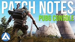 PUBG Xbox/PS4 Update: Patch Notes - Ledge Grabbing, BRDM 2, Deagle, Radio Messages & More