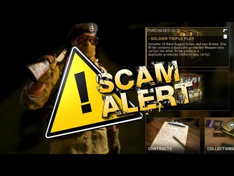 """WTF! NEW """"SOLDIER TRIPLE PLAY"""" SCAM! (DO NOT BUY) SOLDIER TRIPLE PLAY Supply Drop Opening on COD WW2"""