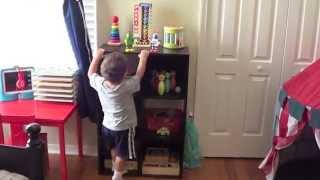 Toddler Toy Storage (Bedroom Toys) Thumbnail
