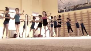 Урок по хореографии для гимнасток (преподаватель-хореограф – Дарья Барабанова)