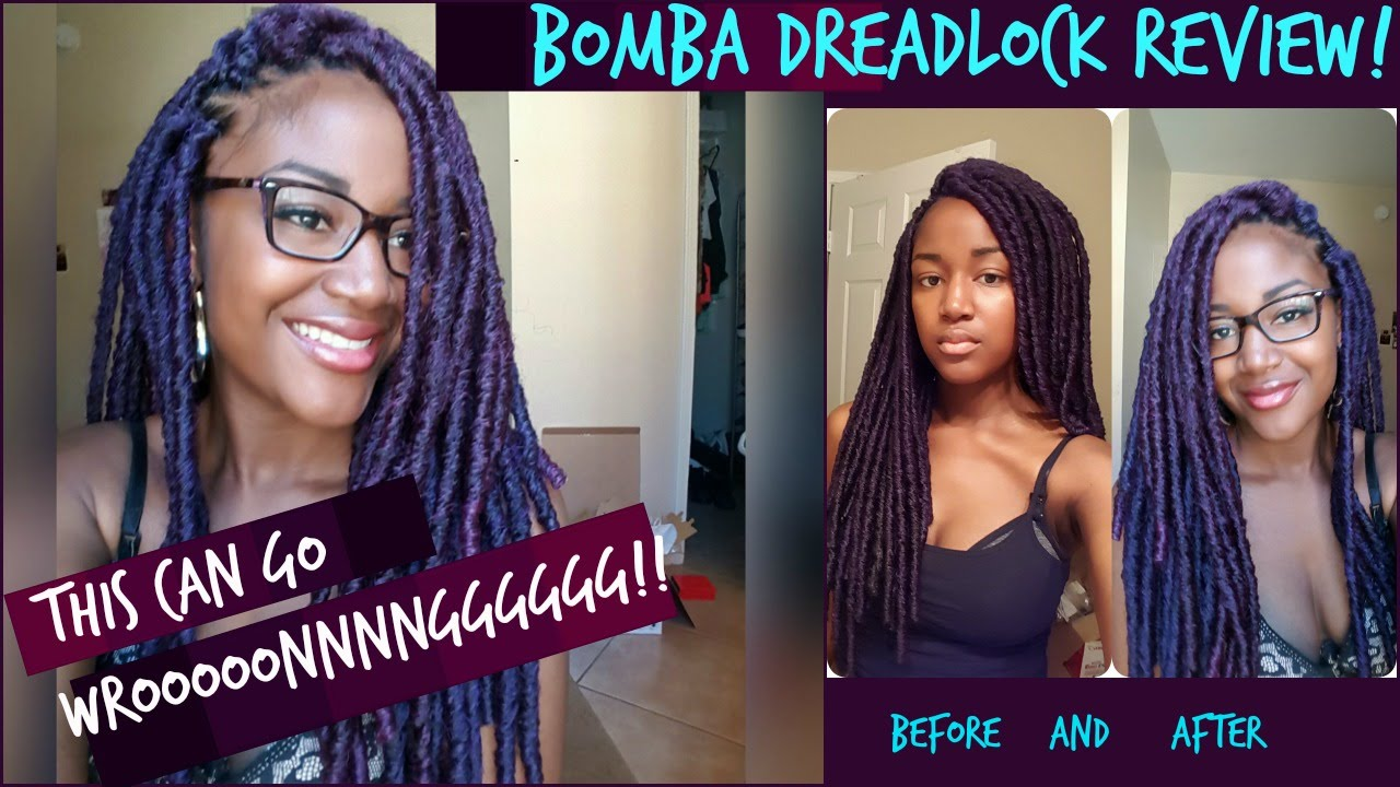 Bomba dreads review! Bomba dreads GONE WRONG! MUST WATCH! 2016-11-15