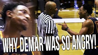 The REAL Reasons Why Demar Derozan Got Mad & Threw The Ball At Drew League Referee thumbnail