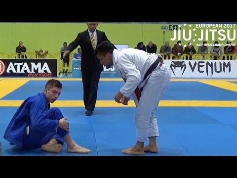 """Rubens """"Cobrinha"""" Maciel VS Gianni Grippo / European Championship 2017"""